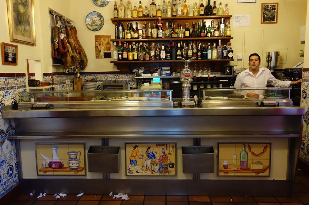 Marino's on Lope de Vega in Madrid! Spain