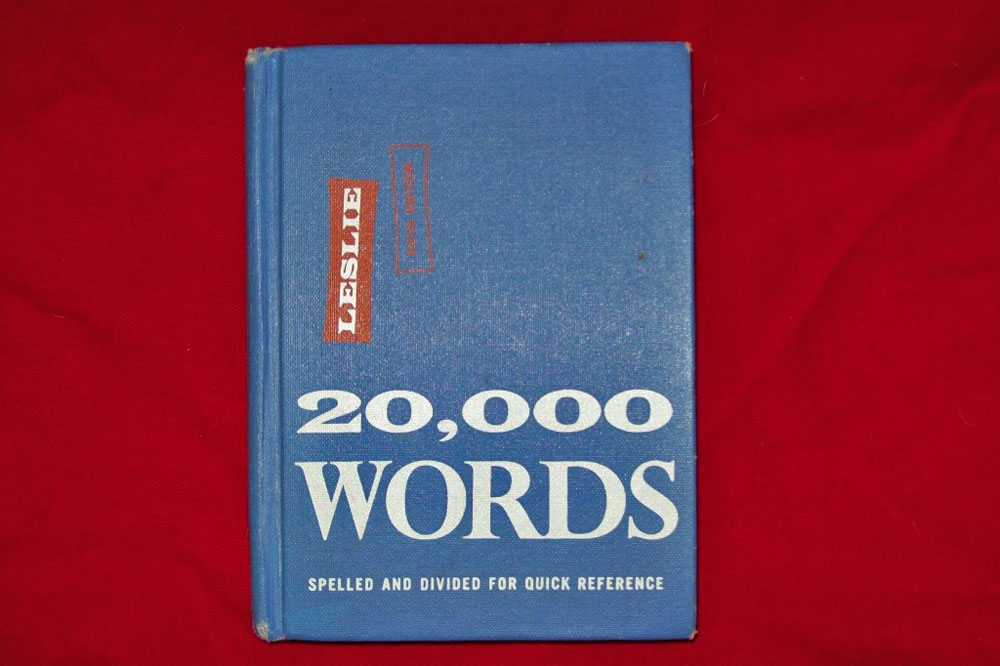 20,000 Words book by Leslie