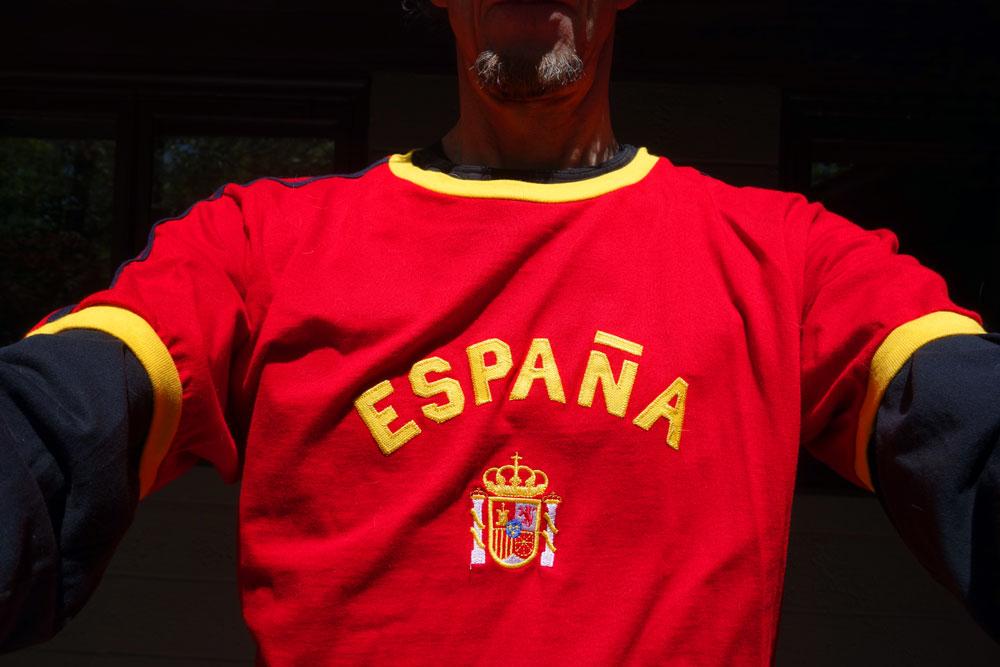 España national team shirt