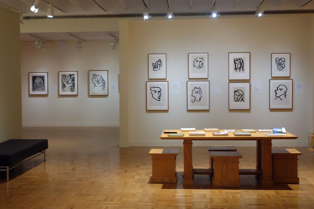 Matisse Prints Show at MAG in Rochester, New York