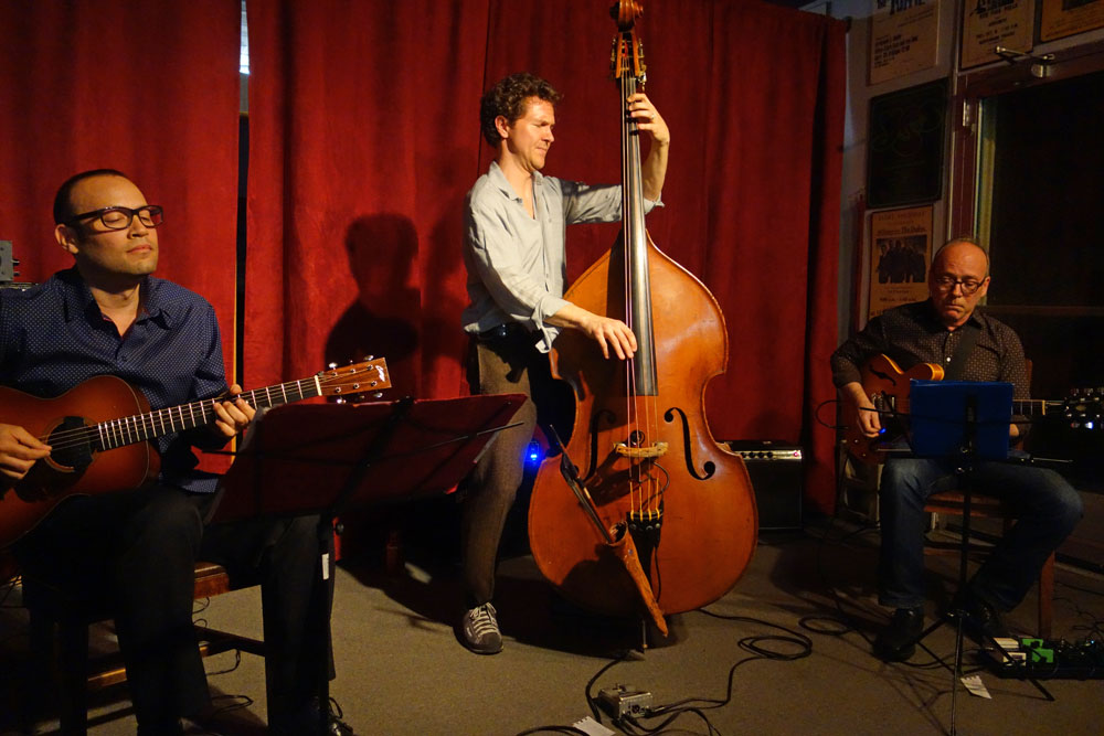 "Stephan Crump""s Rosetta Trio at Bop Shop in Rochester, New York"