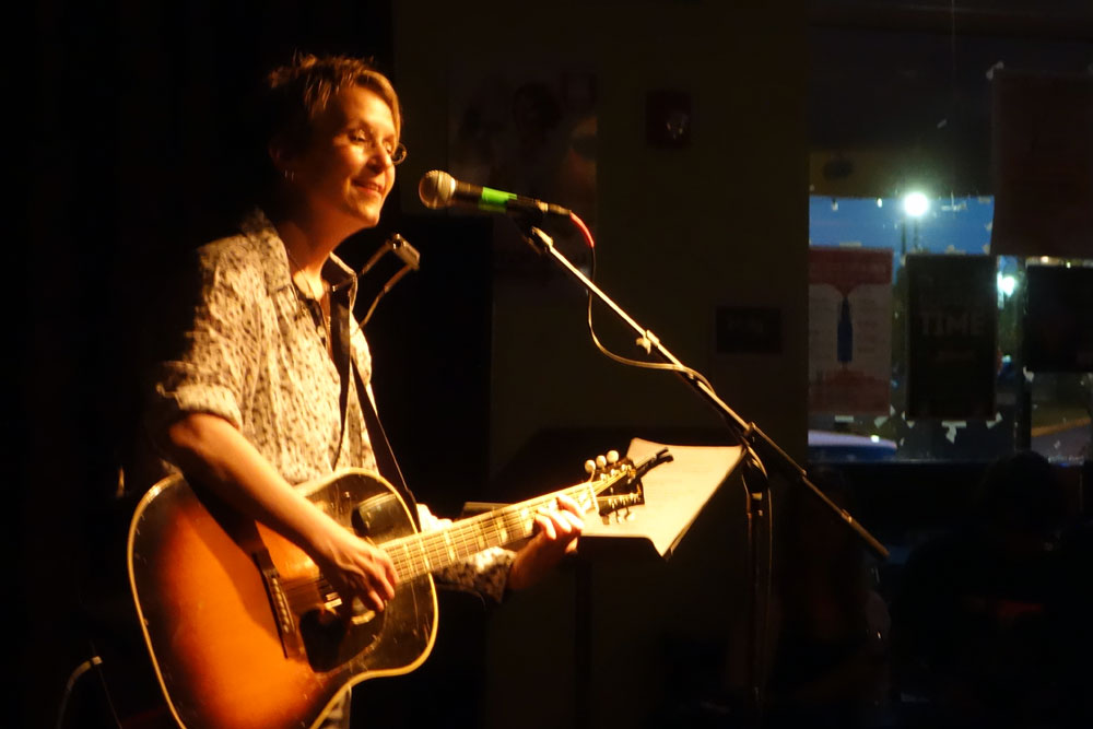 Mary Gauthier at Lovin Cup in Rochester, New York