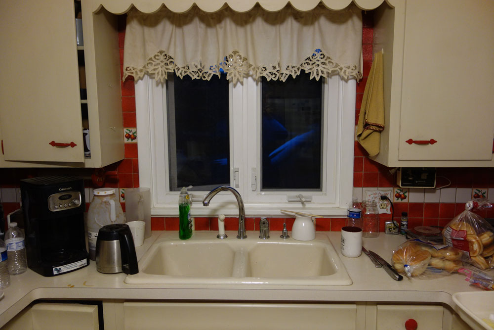 My brother Fran's kitchen