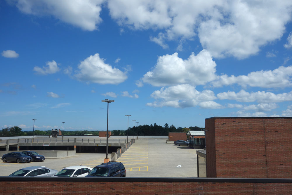 View from forth floor of Rochester General Hospital, formerly Northside Hospital
