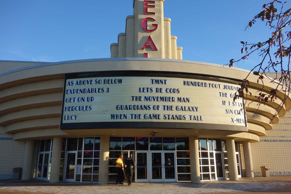 Security Guards reporting for duty at Regal Theater, Culver Ridge, in Rochester, New York