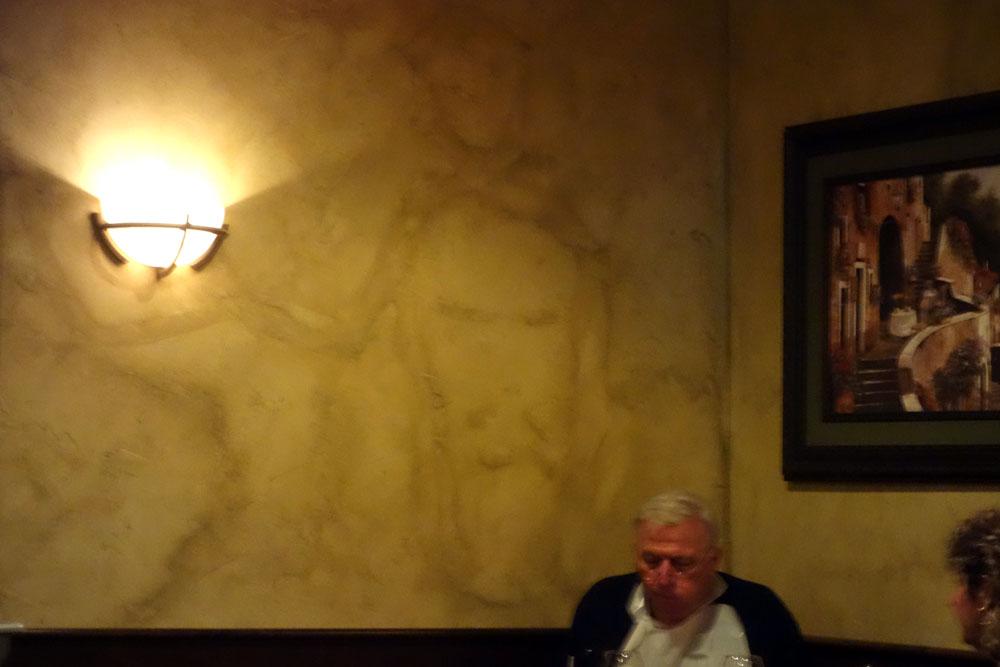 Jesus at Mr. Dominic's, Rochester, New York