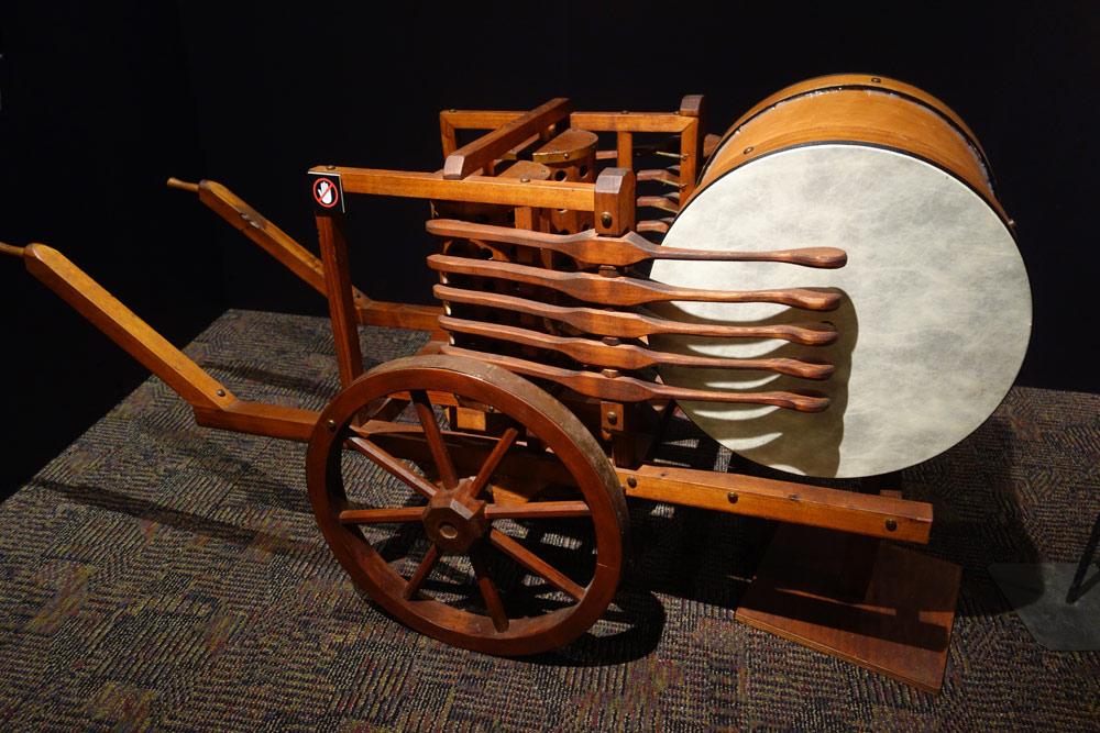 Da Vinci Drums of War at Rochester Museum & Science Center
