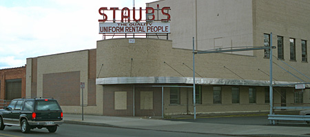 Staub's Cleaners on East Main Street in Rochester NY 1994
