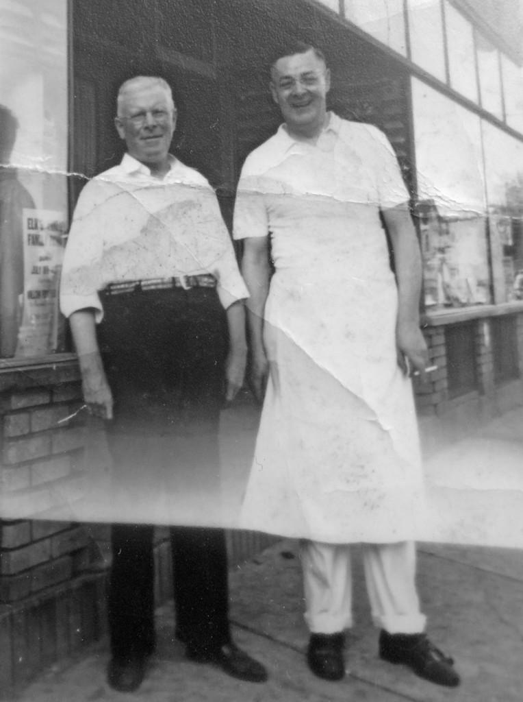 Leo Dodd and Louis Miller, co-proprietors of Munich Restaurant on Thurston Road in Rochester, New York