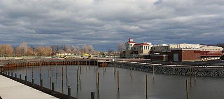 New docks in Port of Rochester