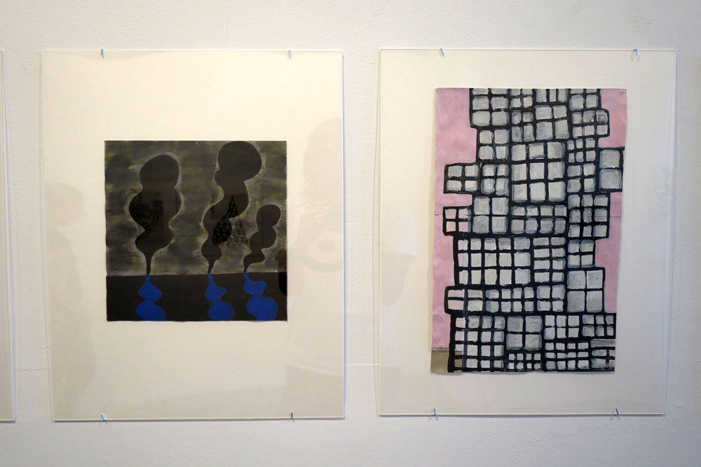 Anne Havens artwork at Collen Hendrick's studio Rochester, New York 2016