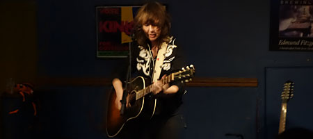 Amy Rigby solo gig at Abilene in Rochester, New York