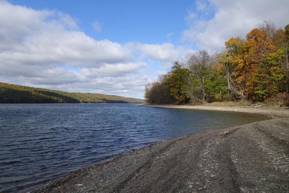 Hemlock Lake in Fall 2016