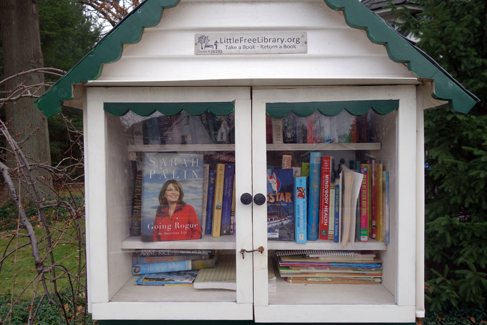 Little Free Library Culver Road in Rochester, New York