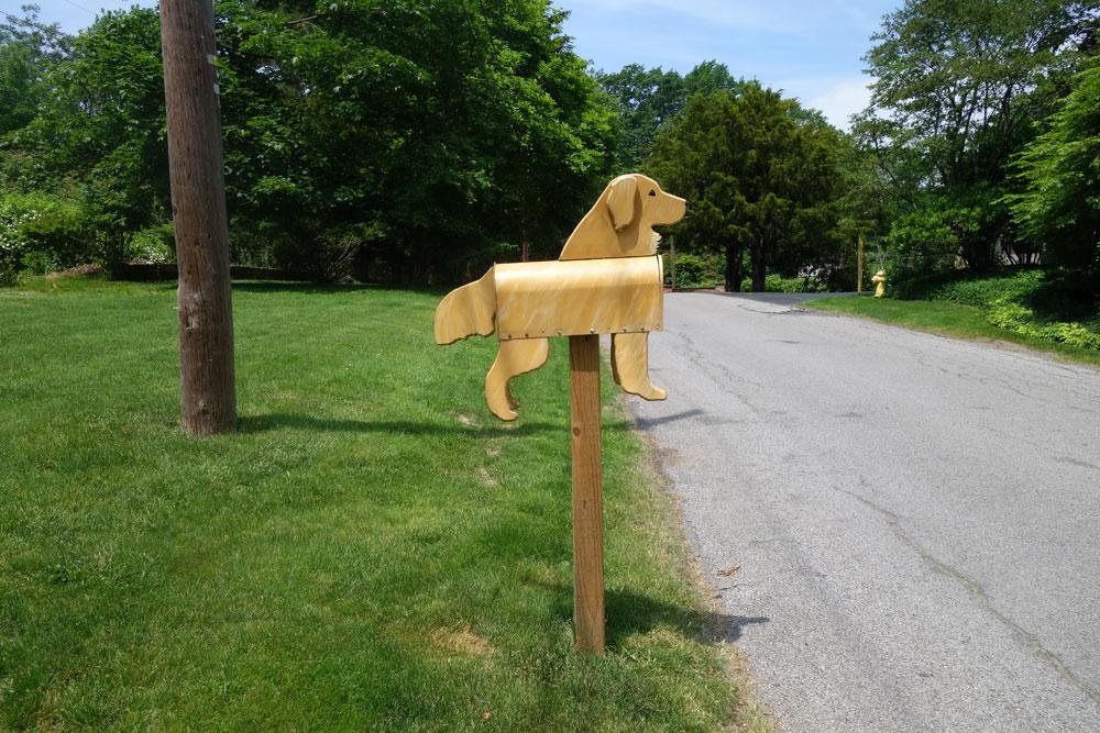 Dog mailbox on Rock Beach Road, Rochester NY