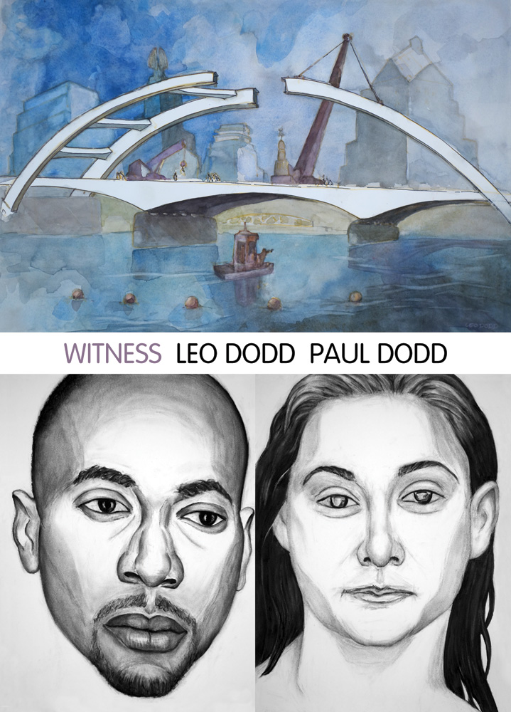 Postcard for Rochester Biennial - Witness | Leo Dodd Paul Dodd at Rochester Contemporary
