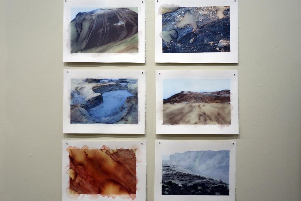 InkJet watercolors at Mercer Gallery Rochester New York