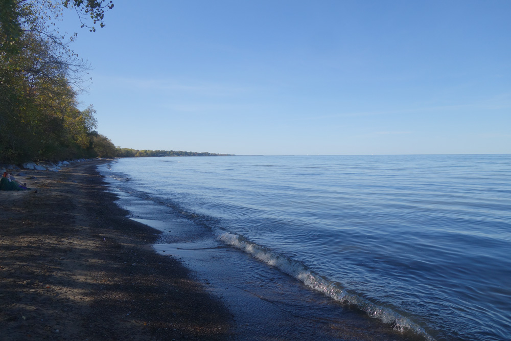 Lake Ontario on a warm October Day