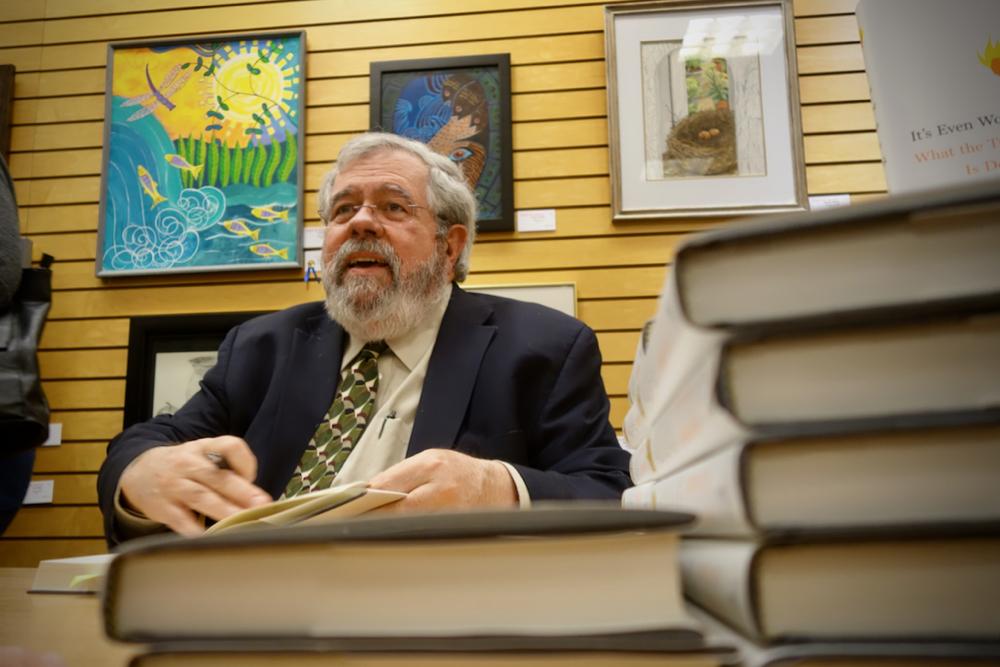 David Cay Johnston at Barnes & Nobel in Pittsford, NY