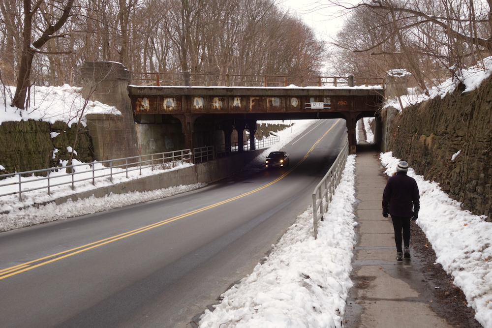 No Draft bridge and Peggi on Penfield Road in Rochester New York