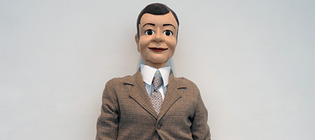 """Laurie Simmons's """"Clothes Make The Man"""" at Mary Boone Gallery in Chelsea"""