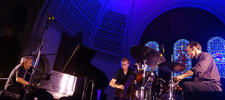 Pilc Moutin Hoenig at Rochester International Jazz Fest