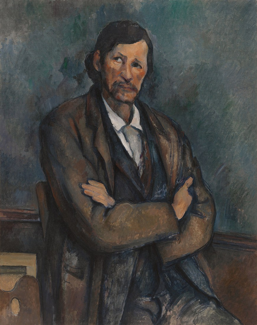 Man With Crossed Arms by Paul Cezanne
