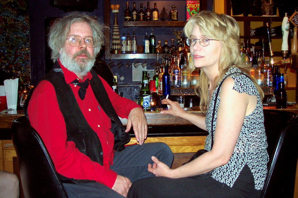 Ted and Janet Williams at the Bug Jar Margaret Explosion performance in 2001