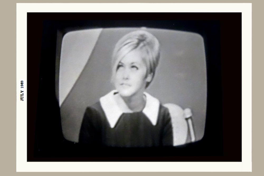Peggi on Blind Date, an Australian version the Dating Game, in July of 1969