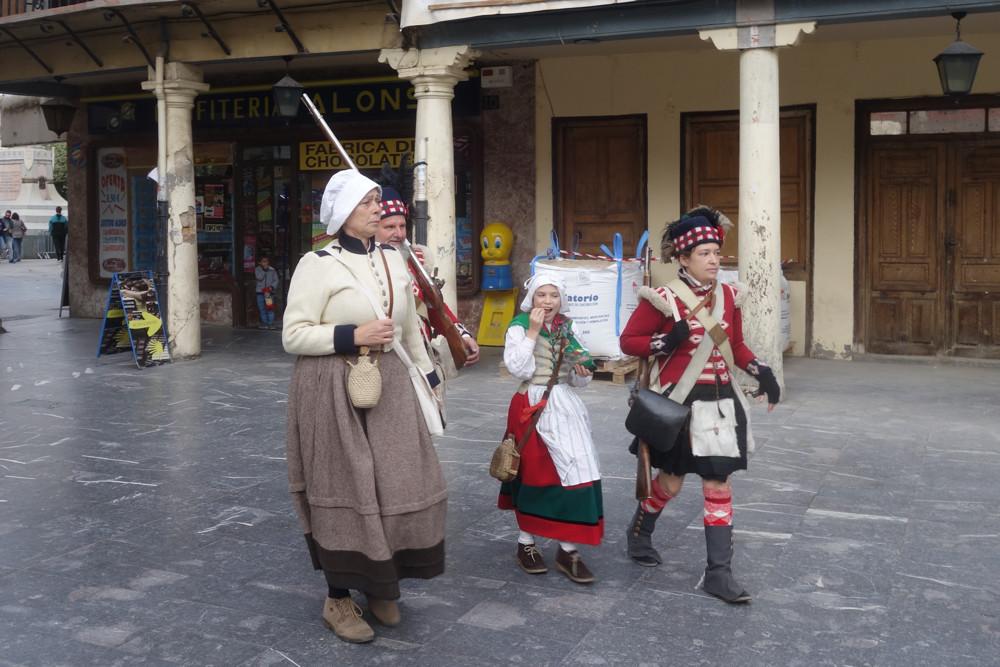 Fiesta Nacional de España, October12 in Astorga