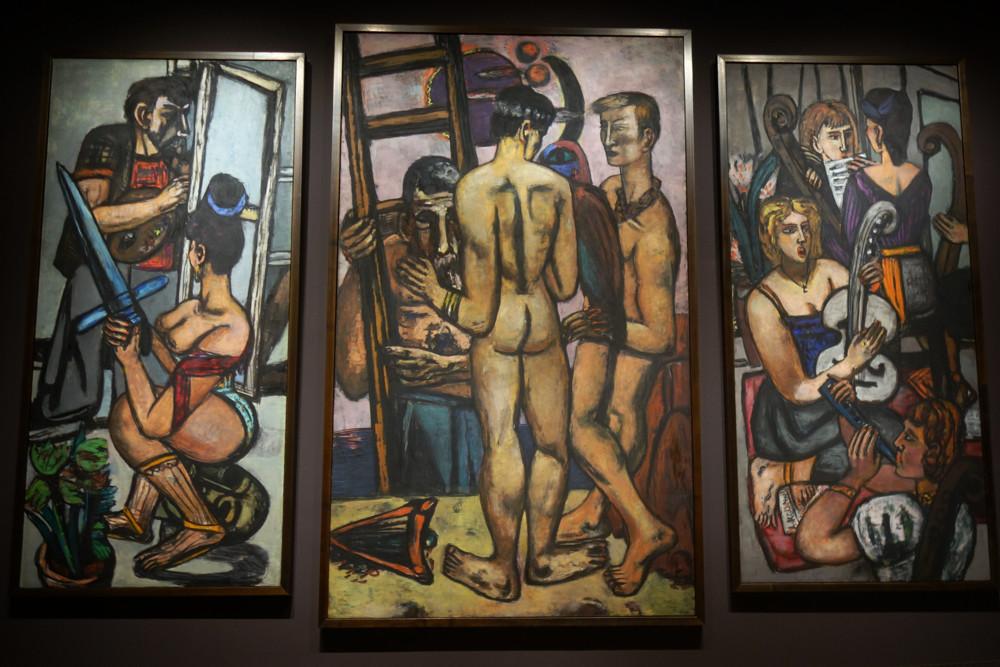 The Argonauts 1950 by Max Beckmann at Thyssen-Bornemisza Bornemisza in Madrid