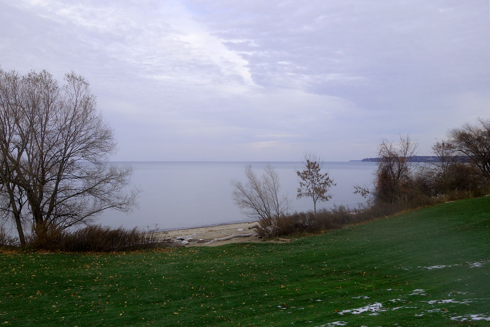 Durand Eastman Beach in November