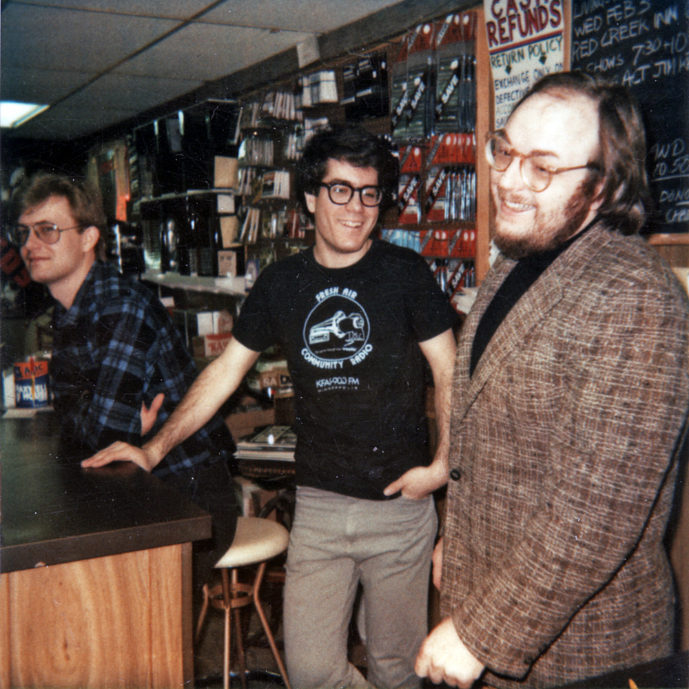 Jim Huey, RocknRoll Joel and Dick Storms at Record Archive.