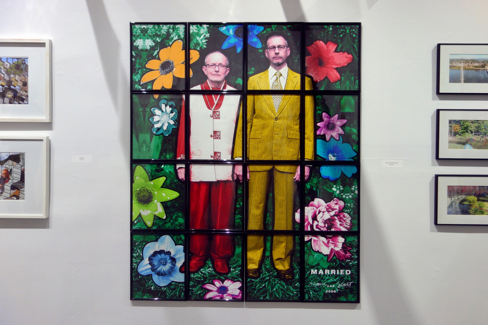 "Scott McCarney ""Married After Gilbert & George"" on view at Colleen Buzzard's Studio"