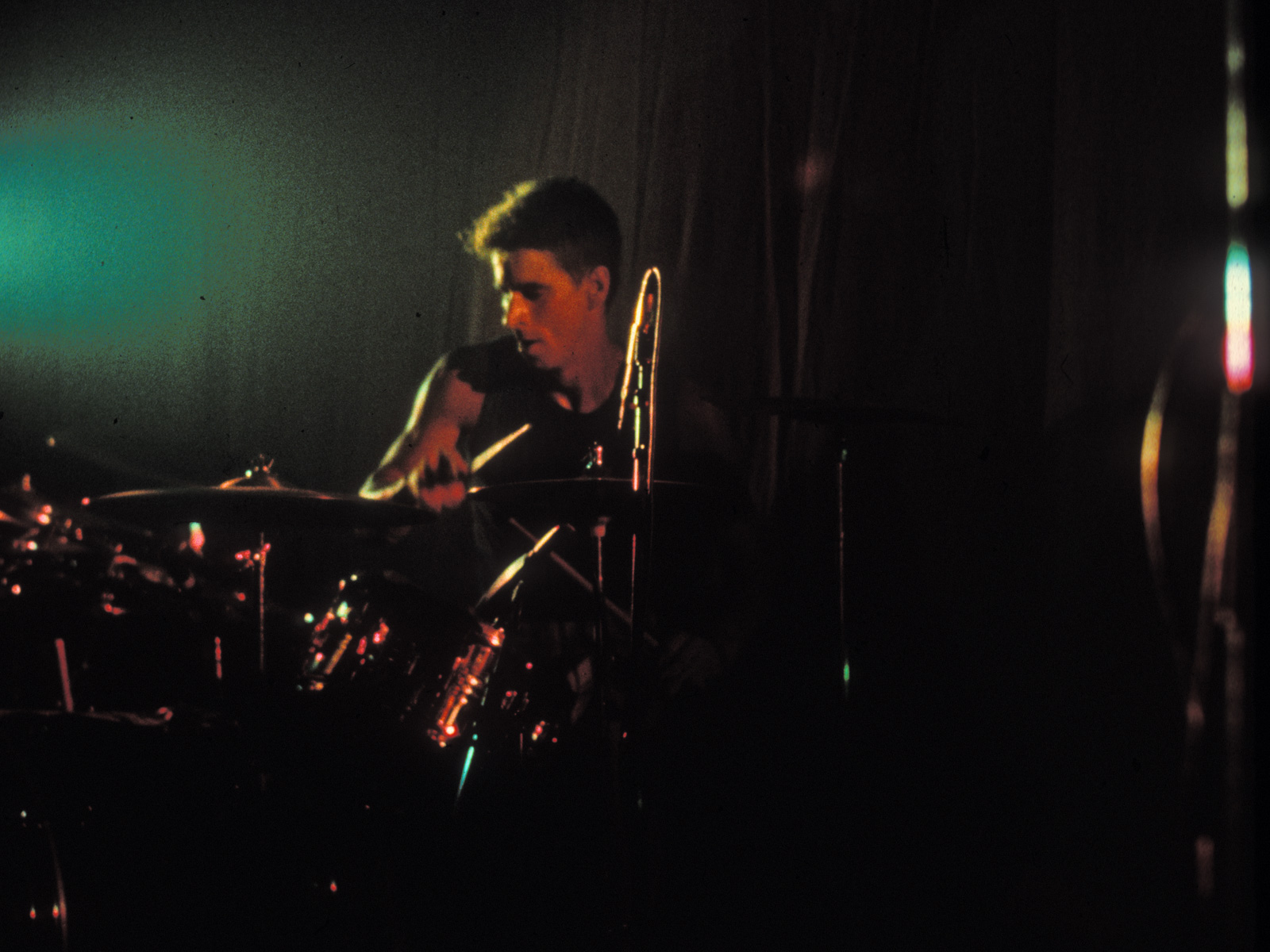 Paul Dodd performing with Personal Effects