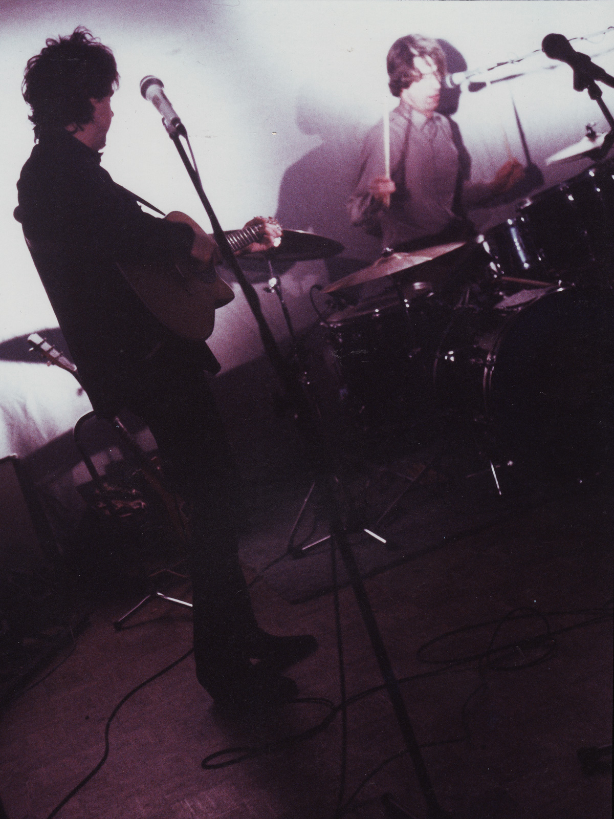 Bob Martin and Paul Dodd performing with Personal Effects in Rochester, New York