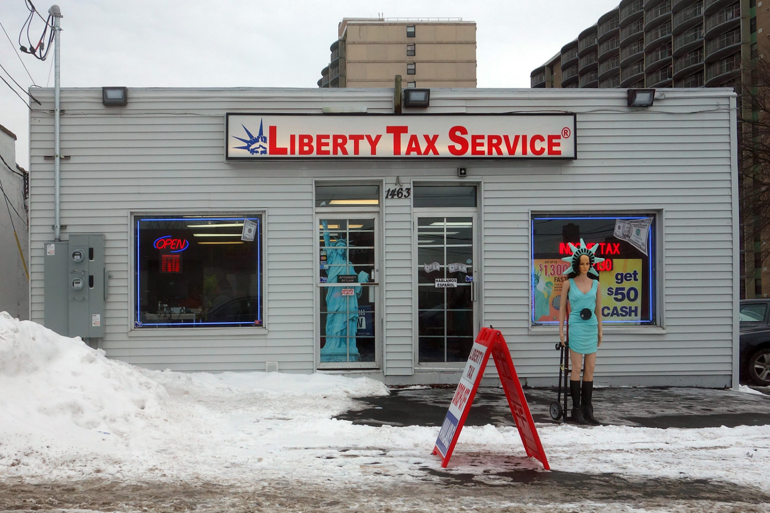 Liberty Tax Service on Hudson Avenue in Rochester, New York