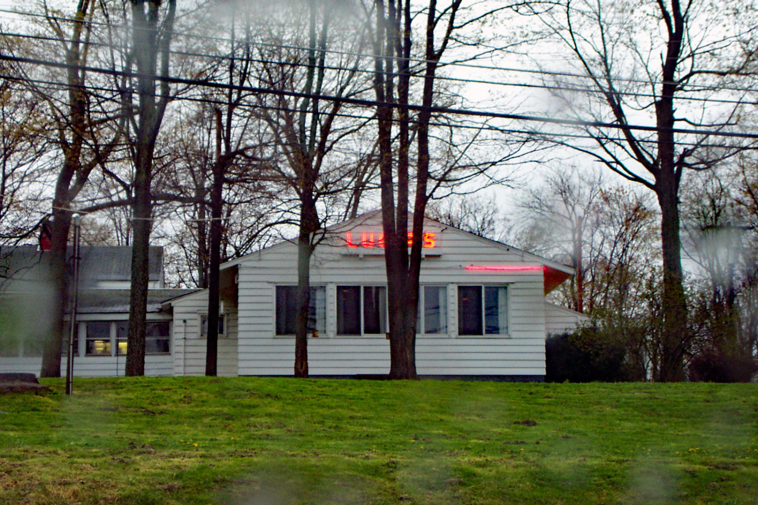 Photo of Lucia's Supper Club in Olean, New York 2002