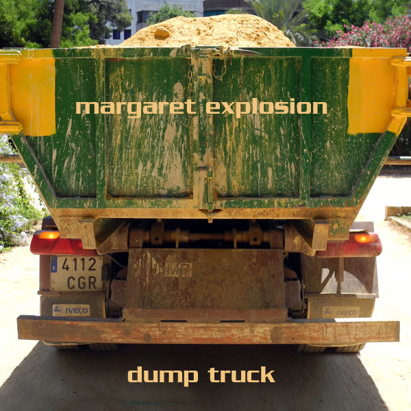 """Dump Truck"" by Margaret Explosion. Recorded live at the Little Theatre on 09.05.12. Peggi Fournier - sax, Ken Frank - bass, Bob Martin - guitar, Jack Schaefer - bass clarinet, Paul Dodd - drums."