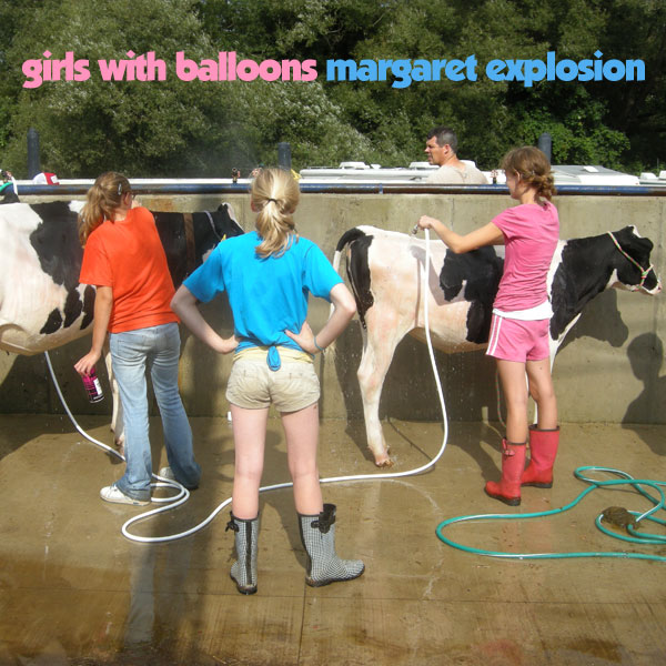 """Girls With Balloons"" by Margaret Explosion. Recorded live at the Little Theatre on 12.19.12. Peggi Fournier - sax, Ken Frank - bass, Bob Martin - guitar, Paul Dodd - drums."