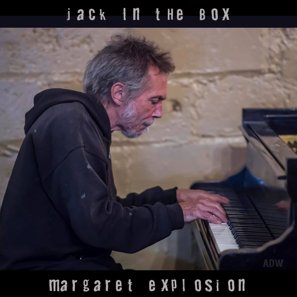"""Jack In The Box"" by Margaret Explosion. Recorded live at the Little Theatre Café on 03.21.18. Peggi Fournier - sax, Ken Frank - bass, Pete LaBonne - piano, Phil Marshall - guitar, Paul Dodd - drums."
