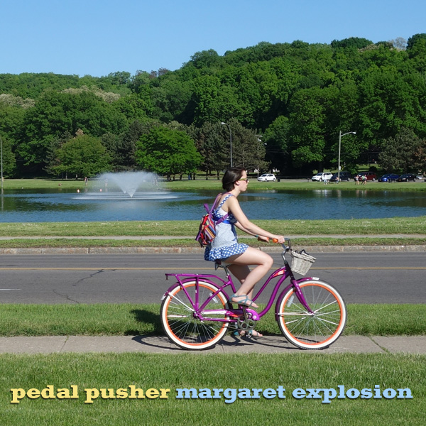 """Pedal Pusher"" by Margaret Explosion. Recorded live at the Little Theatre Café on 11.29.17. Peggi Fournier - sax, Ken Frank - bass, Phil Marshall - guitar, Paul Dodd - drums."