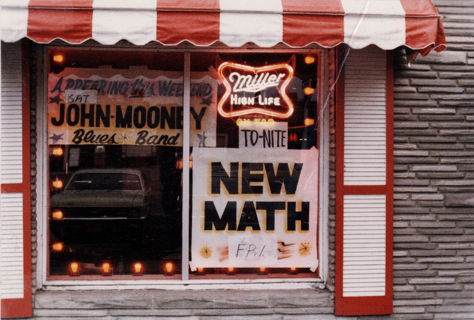 Photo for New Math and John Mooney Blues Band at Electric Circus on Dewey Avenue in Rochester, New York 1977