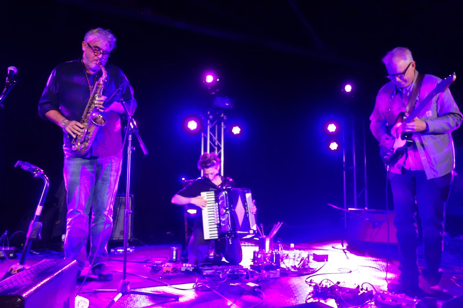Absînt with David Torn, Tim Berne, Aurora Nealand and Bill Frisell performing at Big Ears in Knoxville, Tennessee 2019