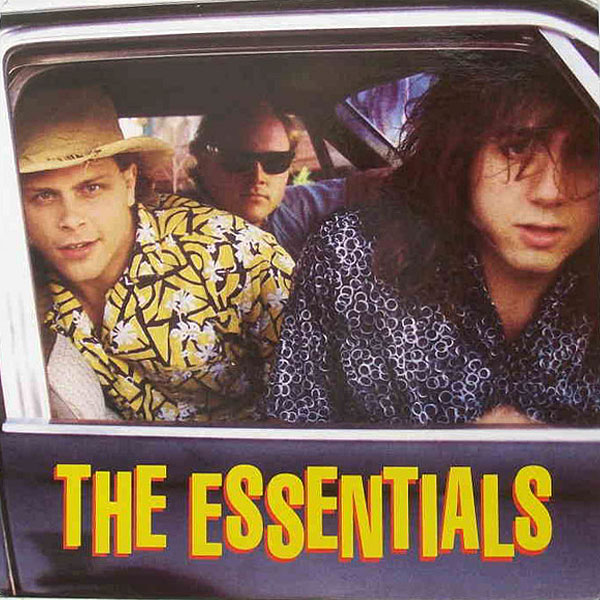 The Essentials, Gas Money, first LP released on Earring Records EAR6 1990