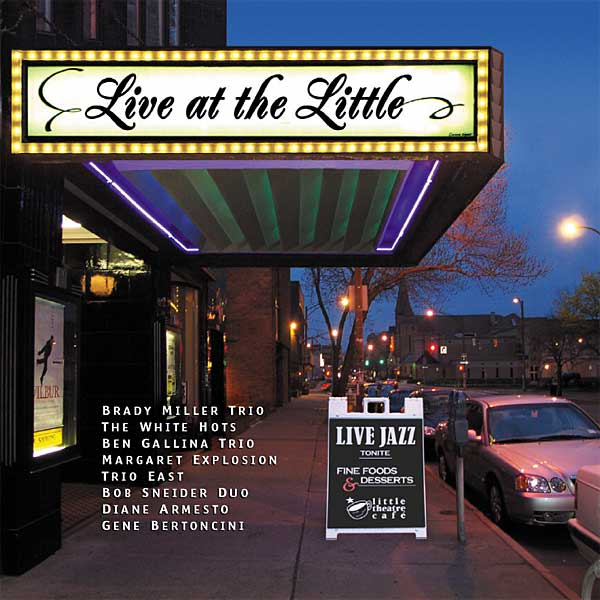 Live At The Little cd, Earring Records release EAR11 2004,