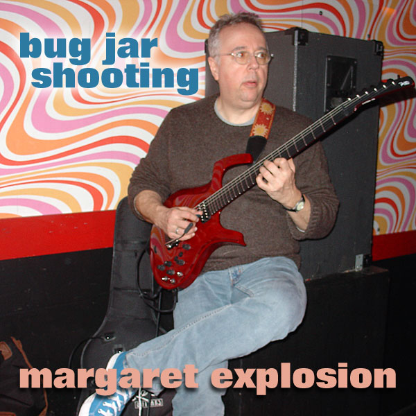 """Bug Jar Shooting"" by Margaret Explosion. Recorded live at the Bug Jar on 05.30.09. Peggi Fournier - sax, Ken Frank - bass, Bob Martin - guitar, Paul Dodd - drums."