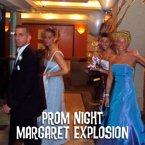 """Prom Night"" by Margaret Explosion. Recorded live at the Little Theatre Café on 02.17.10. Peggi Fournier - sax, Ken Frank - bass, Jack Schaefer - guitar, Paul Dodd - drums."