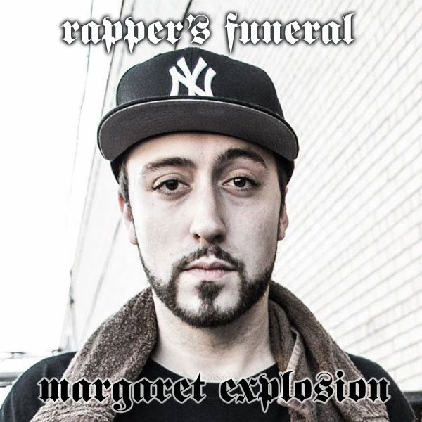"""Rapper's Funeral"" by Margaret Explosion. Recorded live at the Little Theatre Café on 11.29.14. Peggi Fournier - sax, Ken Frank - bass, Jack Schaefer - bass clarinet, Bob Martin - guitar, Paul Dodd - drums."