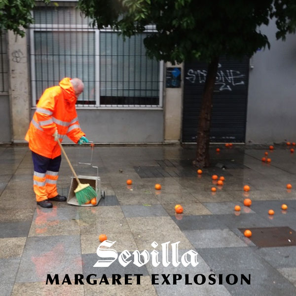 """Sevilla"" by Margaret Explosion. Recorded live at the Little Theatre Café on 10.18.17. Peggi Fournier - sax, Ken Frank - bass, Phil Marshall - guitar, Paul Dodd - drums."
